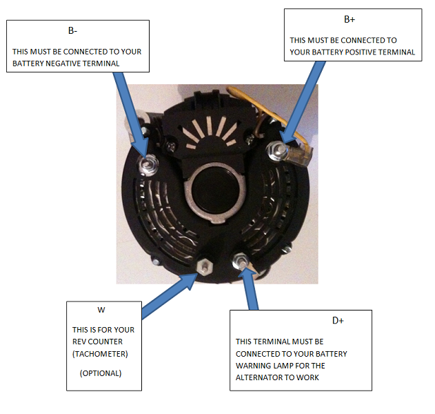 volvo penta 70 amp marine alternator 111397